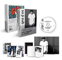 蘇志燮TWENTY:THE MOMENT IN TAIPEI   (出道20年台灣專場粉絲會DVD+寫真冊+時光筆記本+海報  全球獨占限量)